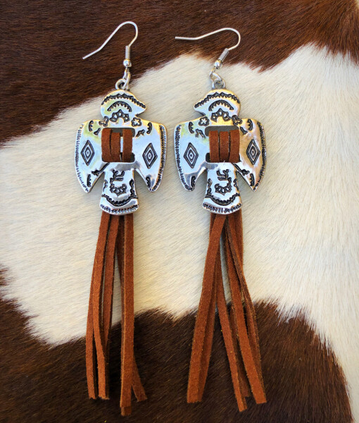 western thunderbird earrings
