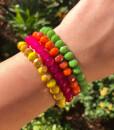 Crystal Stretch Bracelet Set ( 01 Colorful )