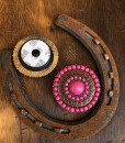 """"""" Sonia """" Western Detail Phone Accessory ( Pink )"""