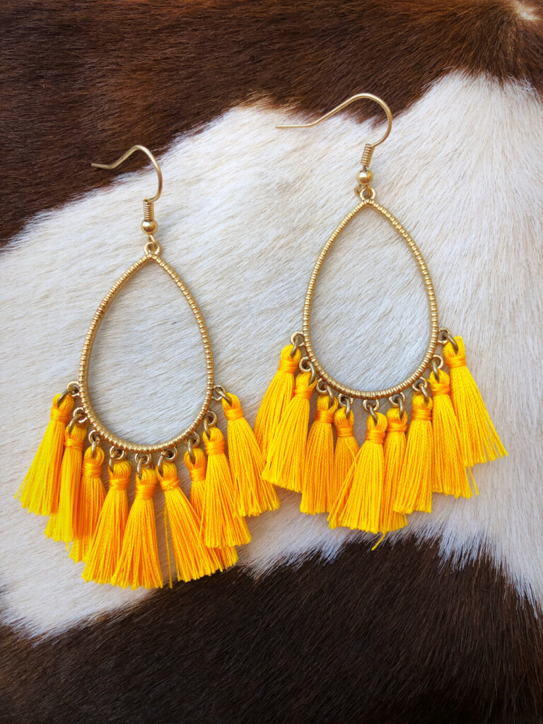OLIVIA TASSEL EARRINGS