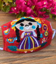 MEXICAN EMBROIDERY MASK