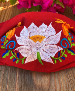 EMBROIDERY FACE MASK