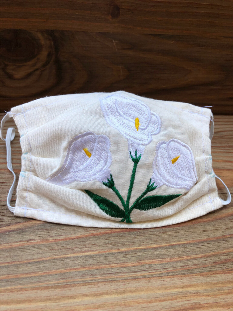 EMBRODIERED FACE MASK