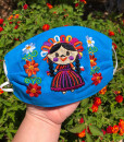 MEXICAN EMBROIDERED MASK