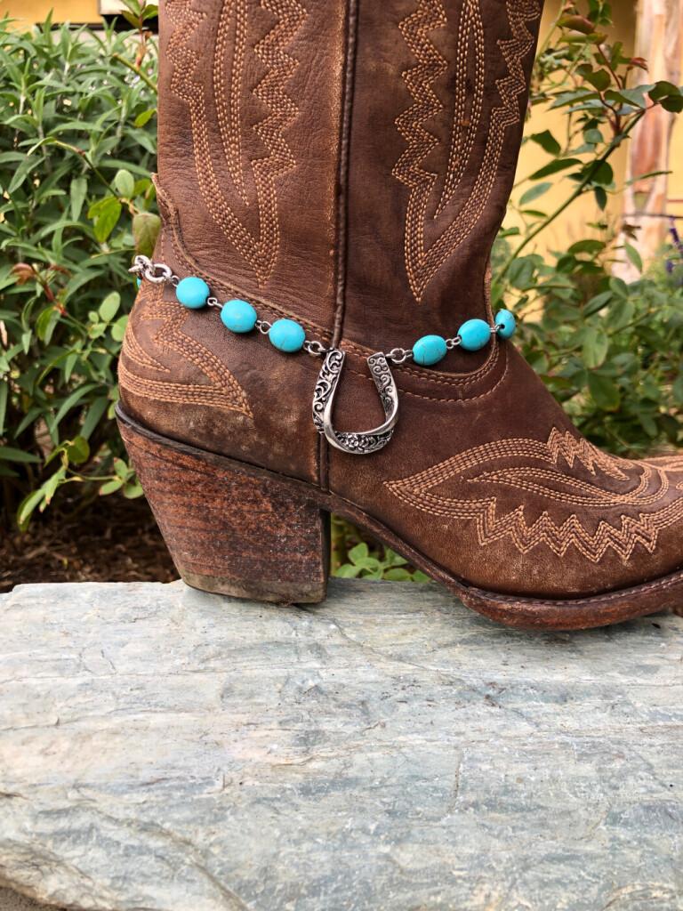 western boot charm
